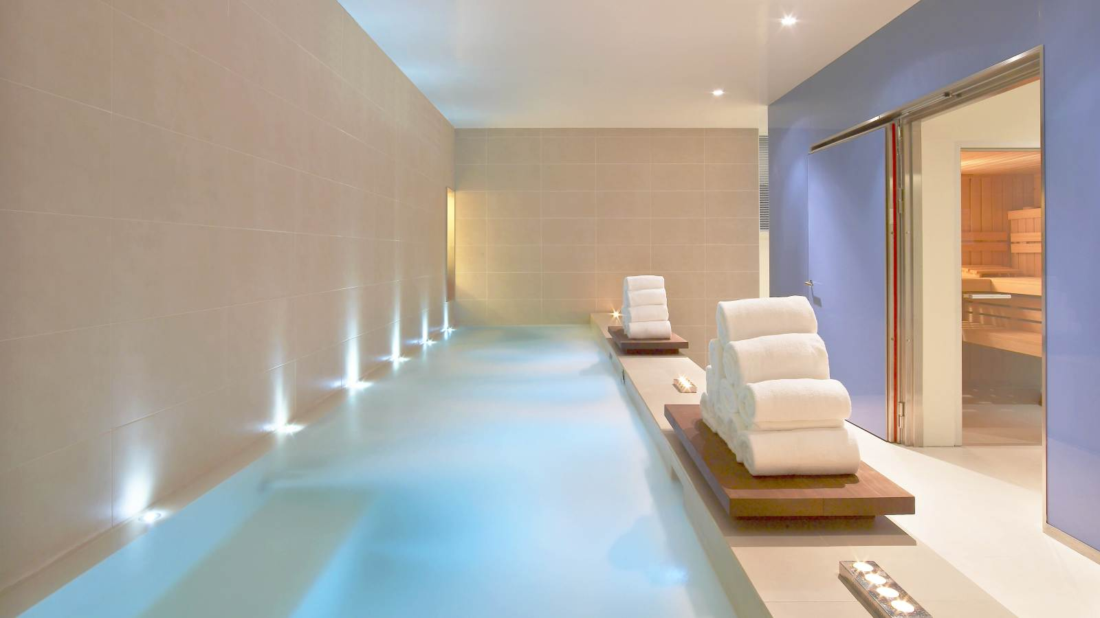 Jacuzzi en Bliss Spa Barcelona
