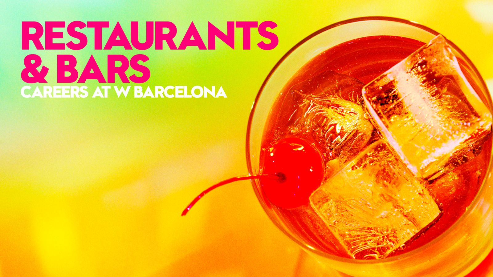 Restaurants & Bars | Careers at W Barcelona