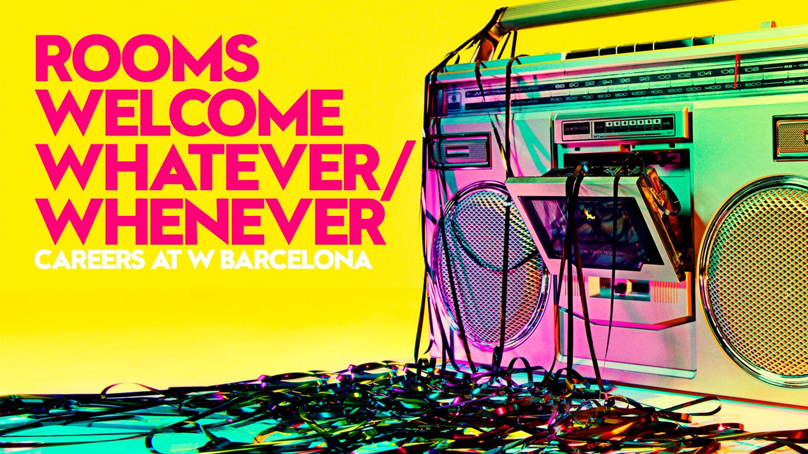 Rooms | Welcome | Whatever/Whenever - W Barcelona