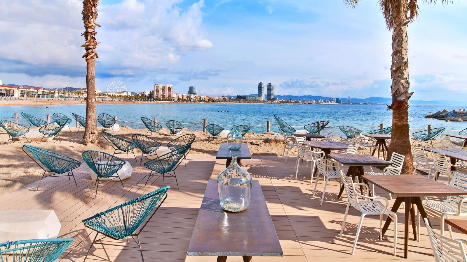 Salt Beach Club en W Barcelona