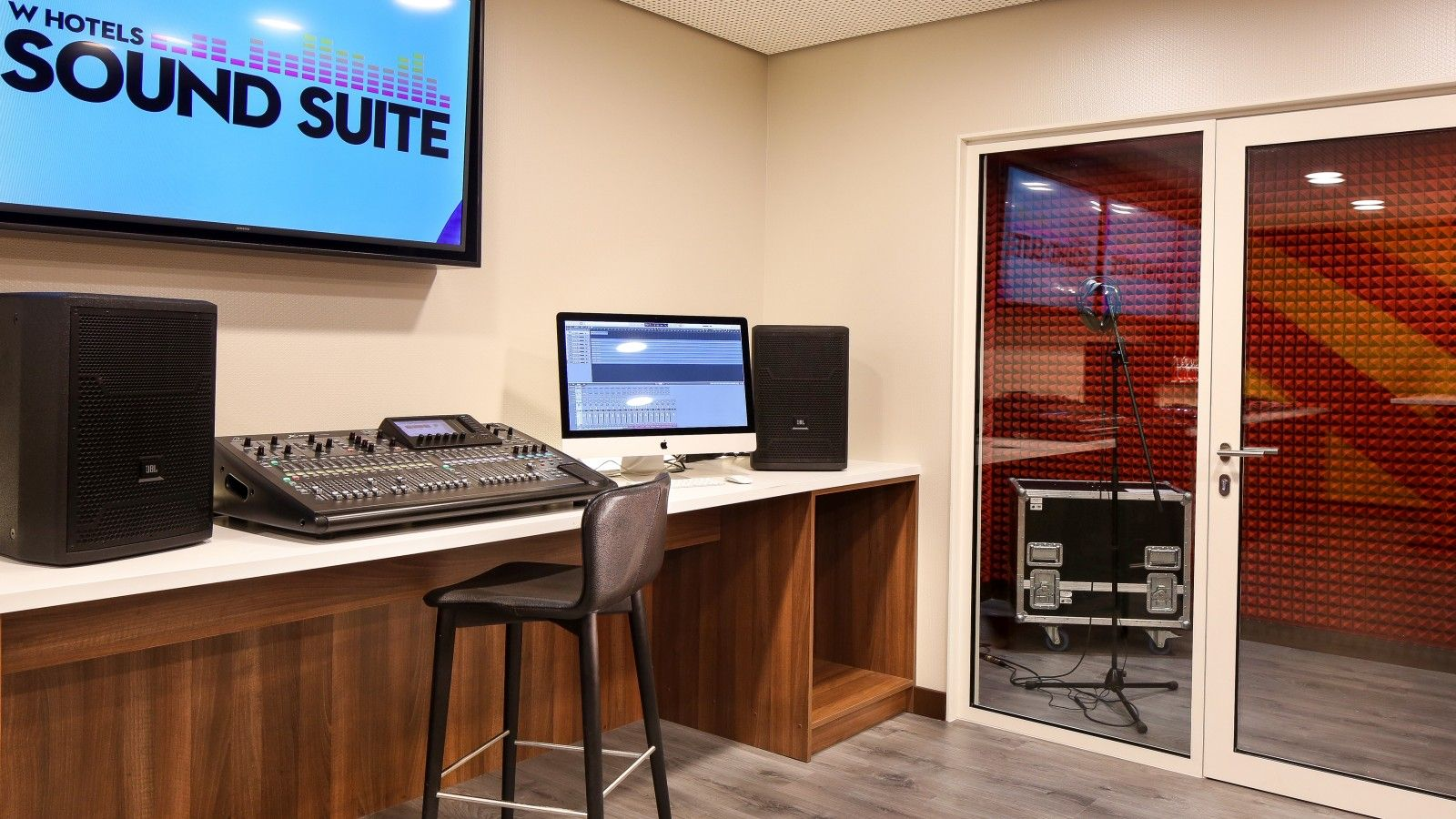 W Sound Suite Professional Recording Studio at W Barcelona