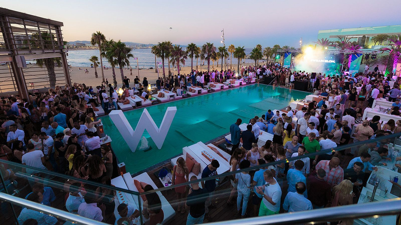 Wet Deck Summer Series en W Barcelona