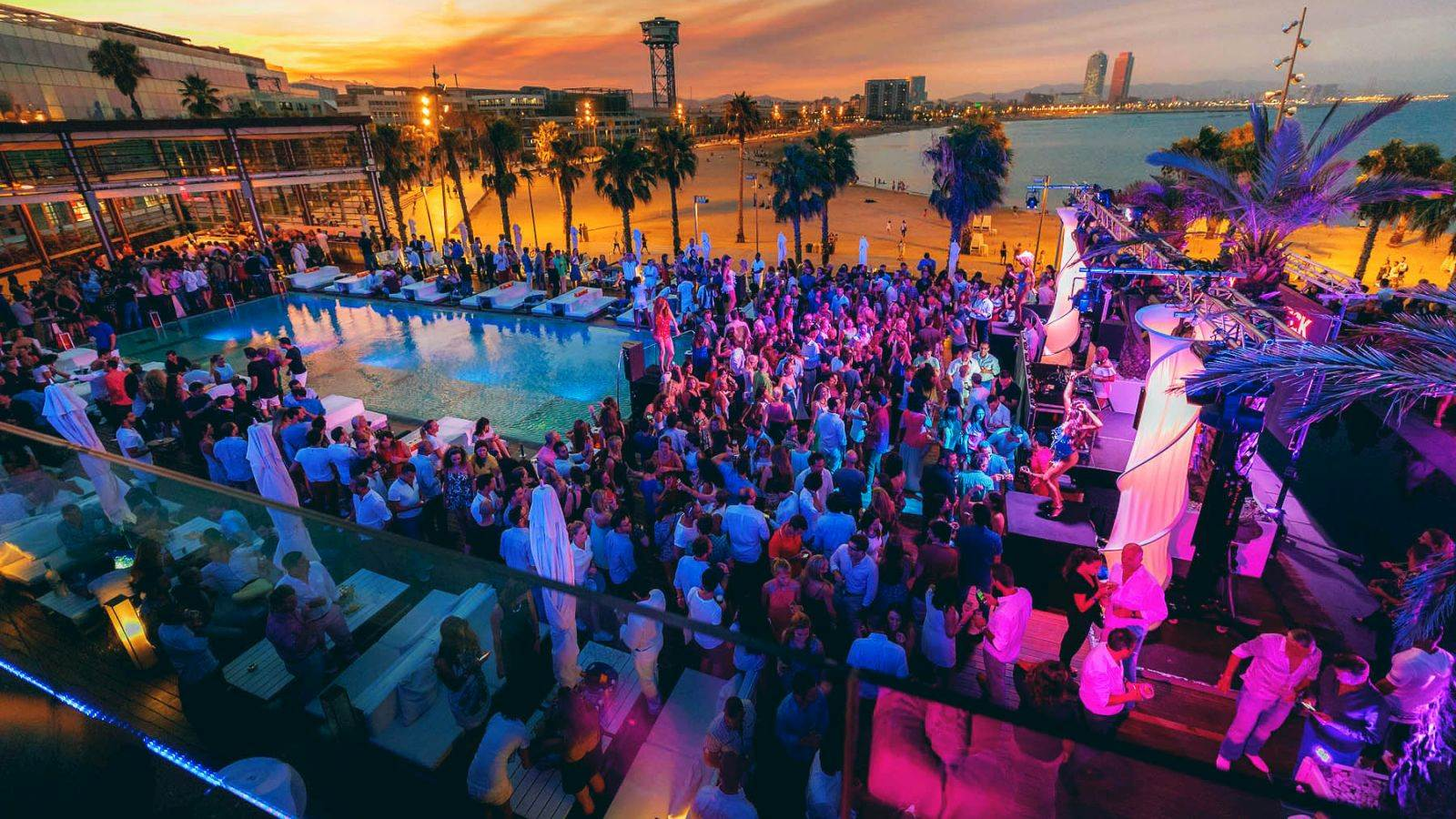 Wet Deck Summer Series at W Barcelona