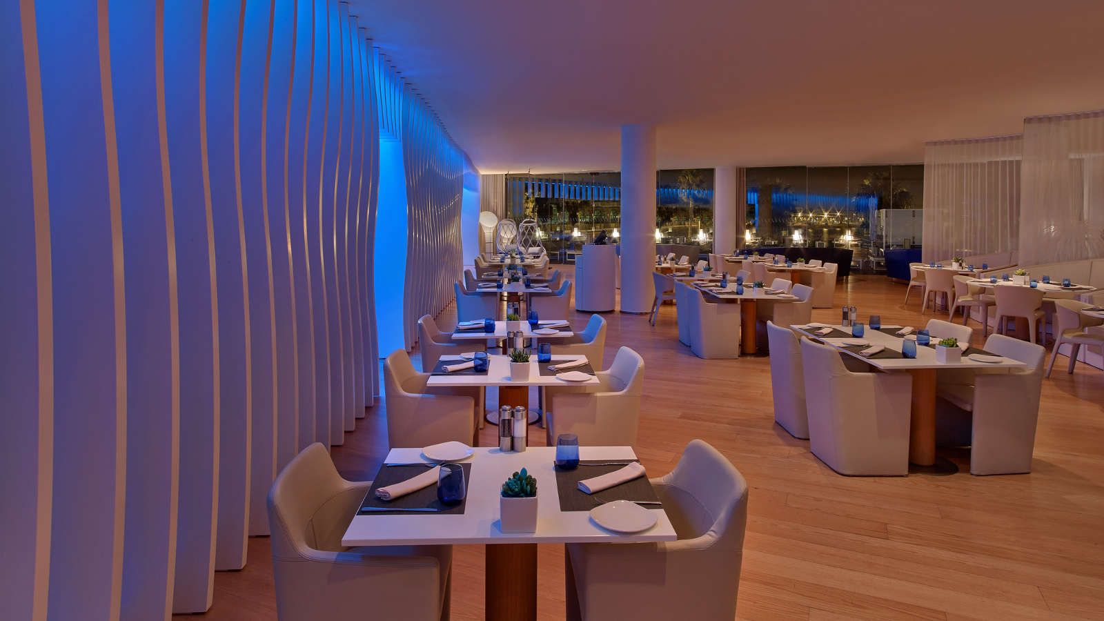 Wave Restaurant at W Hotel Barcelona