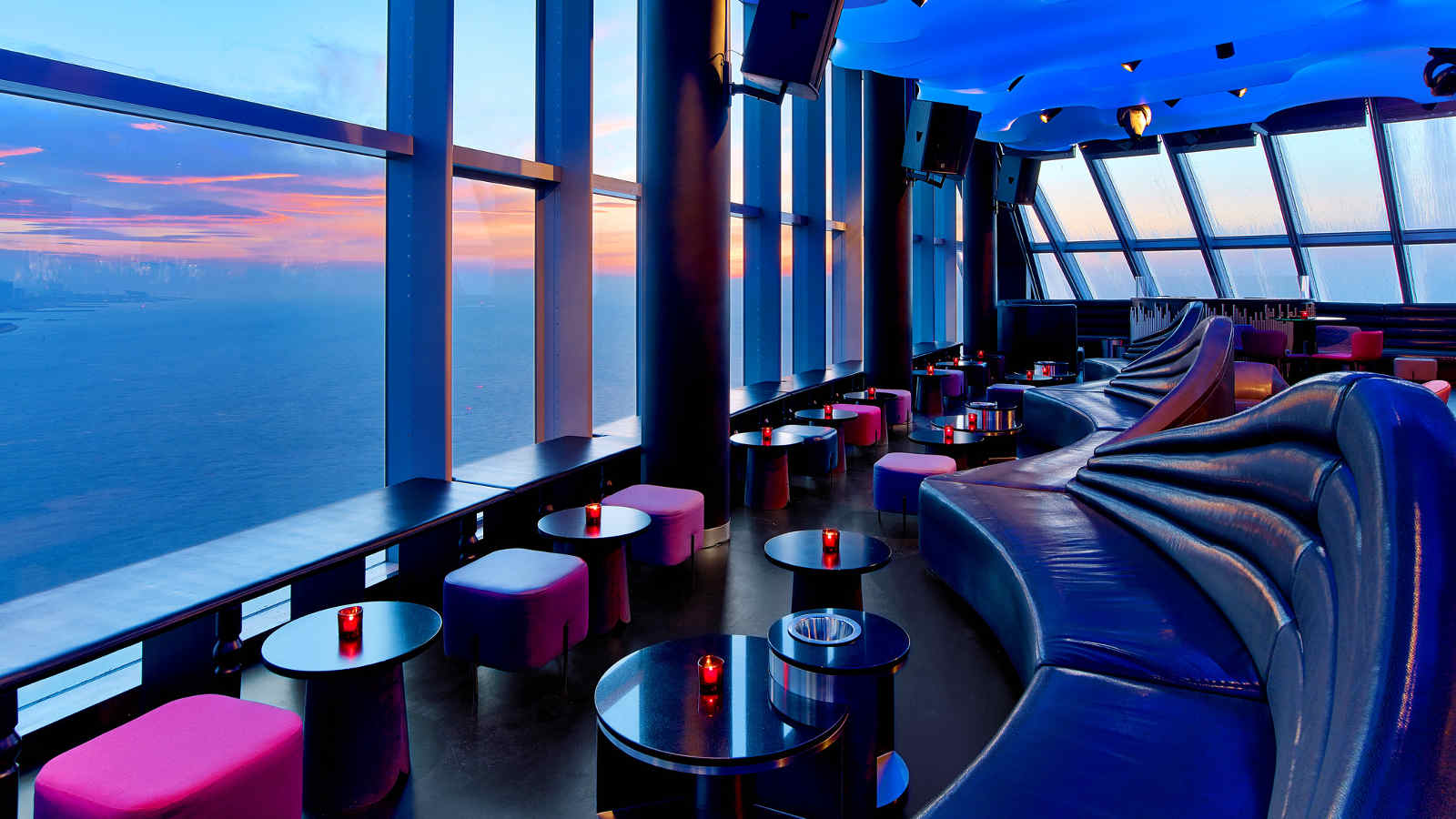 Eclipse Disco with panoramic view at W Hotel Barcelona