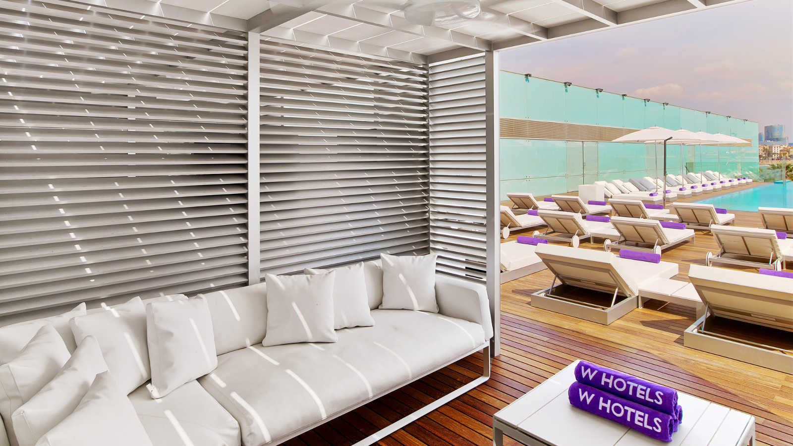 Best Beach Cabana at W Hotel Barcelona