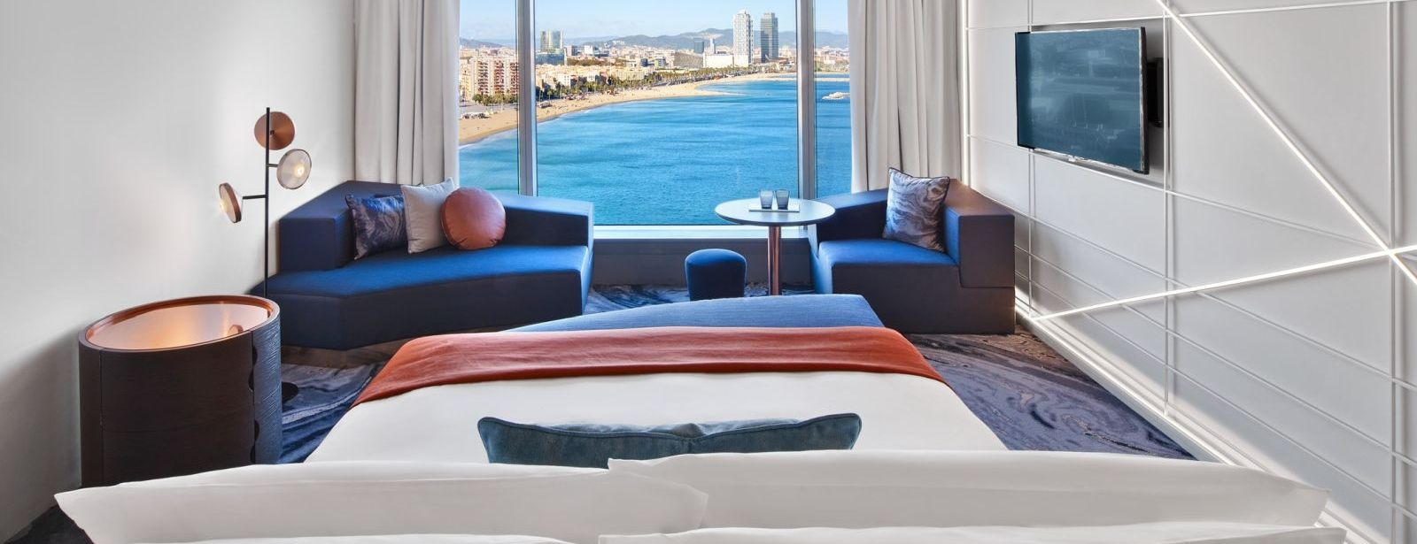 Fabulous Sky Room at W Barcelona