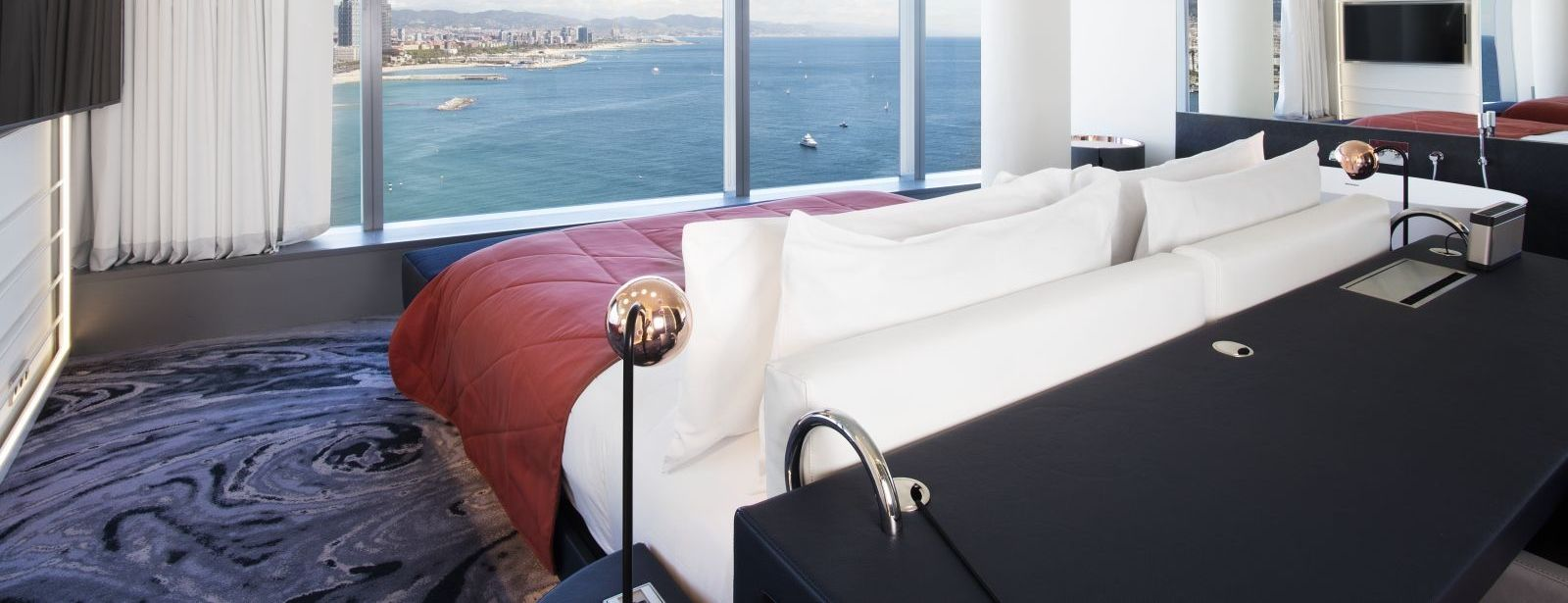 Spectacular Suite with sea views at W Barcelona